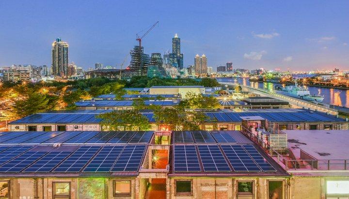 Solar panels in Taiwan