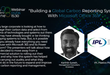 Webinar: Building a Global Carbon Reporting System With Microsoft Office 365
