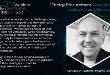 Webinar: Energy Procurement Strategies for Lockdown and Beyond