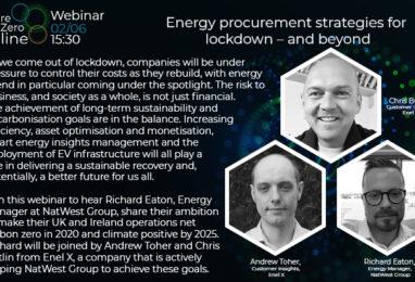 Webinar: Energy Procurement Strategies for Lockdown – and Beyond