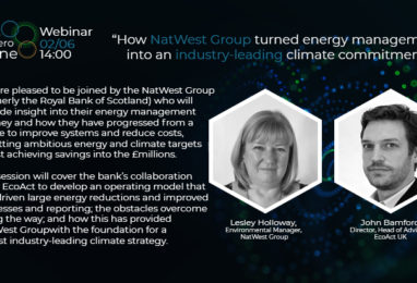 Webinar: A to Zero: How NatWest Group turned energy management into an industry-leading climate commitment