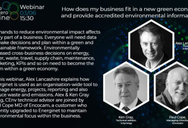 Webinar: How does my business fit in a new green economy and provide accredited environmental information?