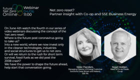 Webinar: Net zero reset? Partner insight with Co-op and SSE Business Energy