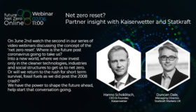 Webinar: Net zero reset? Partner insight with Kaiserwetter and Statkraft
