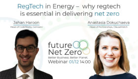 Webinar: RegTech in Energy – why regtech is essential in delivering net zero