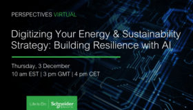 WEBINAR – Digitizing Your Energy & Sustainability Strategy: Building Resilience with AI