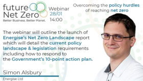 Webinar: Overcoming the policy hurdles of reaching net zero