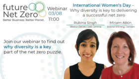 International Women's Day webinar – Why diversity is key to delivering a successful net zero