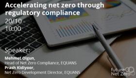 Webinar: Accelerating net zero through regulatory compliance
