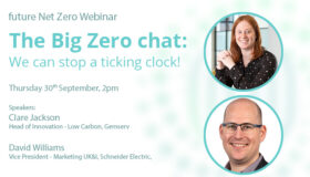 Webinar: The Big Zero chat: We can stop a ticking clock!